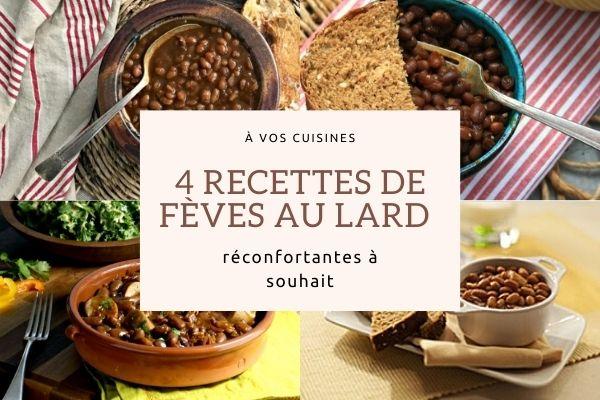 recettes feves au lard