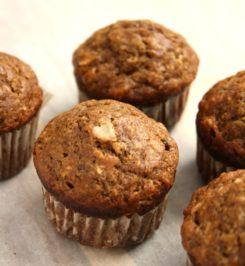 muffin à l'avoine