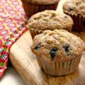 Muffins multigrains aux bleuets et carottes