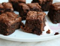 brownies chocolat et amandes