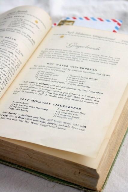 vieux livre de cuisine