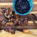 sauce barbecue avec poulet