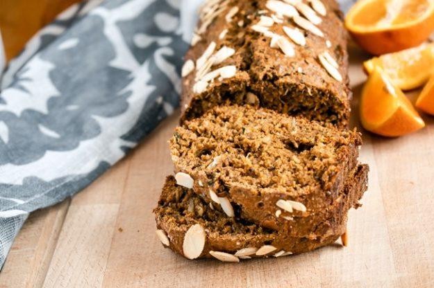 pain à la pulpe avec oranges